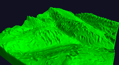 3D Terrain Detailing by Combining Machine Learning and Signal Processing